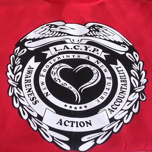 Program T-Shirt L.A.C.Y.P. Front/Back
