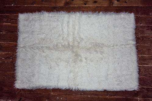 Flokati Woven Woolen Rug (Large)