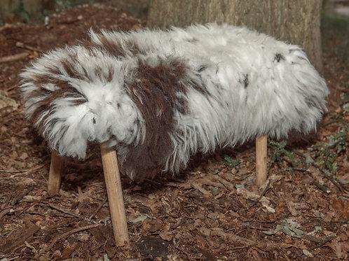 Jacob Type Sheepskin Rug