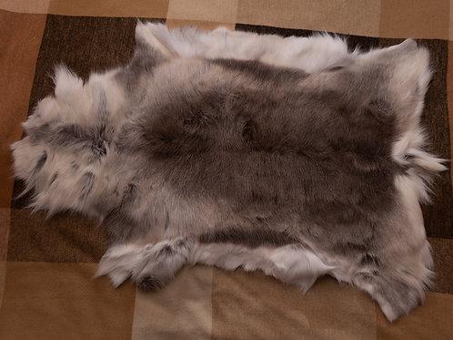 White/Grey/Brown Type Reindeer Skin