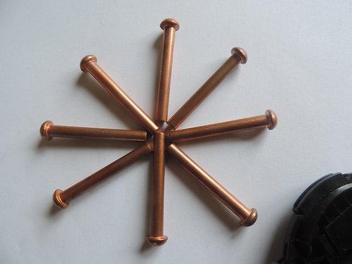 3/16 by 1.5 inch Copper Rivet