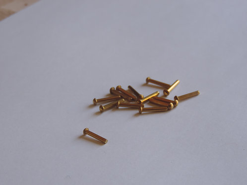 1/16 x 3/8 inch BRASS SHD Rivet