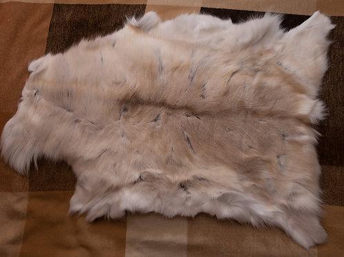 Off-White/Grey Reindeer Skin 110x79cm