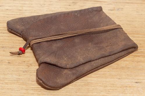 Goatskin Leather Pouch