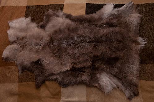Brown/Grey/White Reindeer Skin 114x65cm