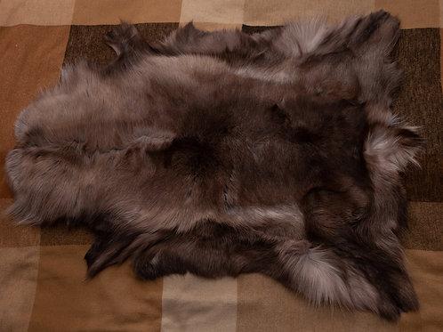 Brown/Grey/White Reindeer Skin 116x79cm