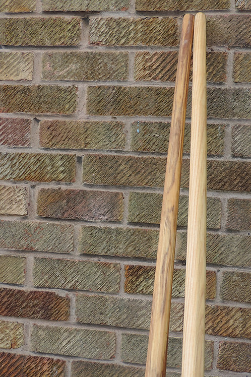 Single-Hander Spear shaft  (8ft/2.4m) 25mm (approx) Thick - Ash