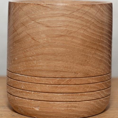 Oak Ringed Beaker
