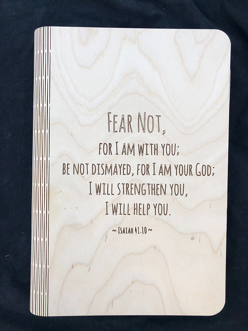 Fear Not Notebook Cover
