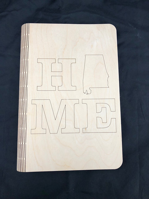 Alabama Home Notebook Cover