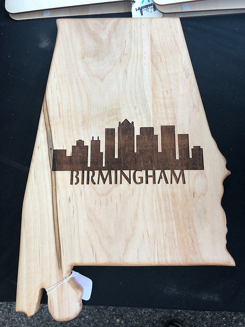 Birmingham Skyline Alabama Cuttingboard