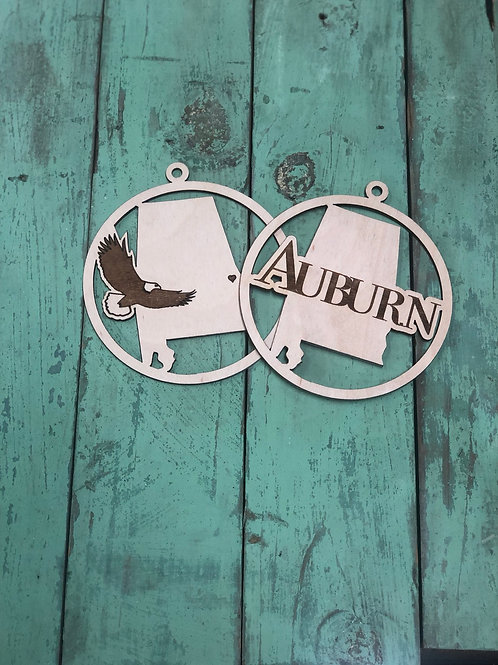 Auburn ornament collection