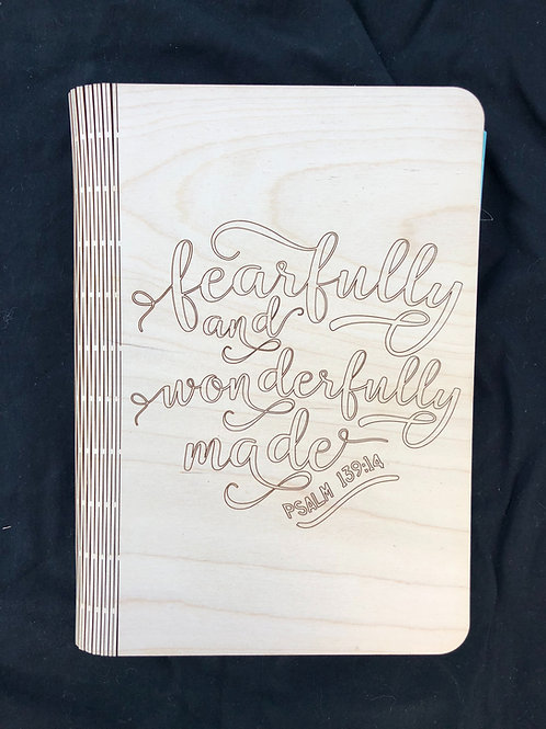 Fearfully and Wonderfully Made Notebook Cover