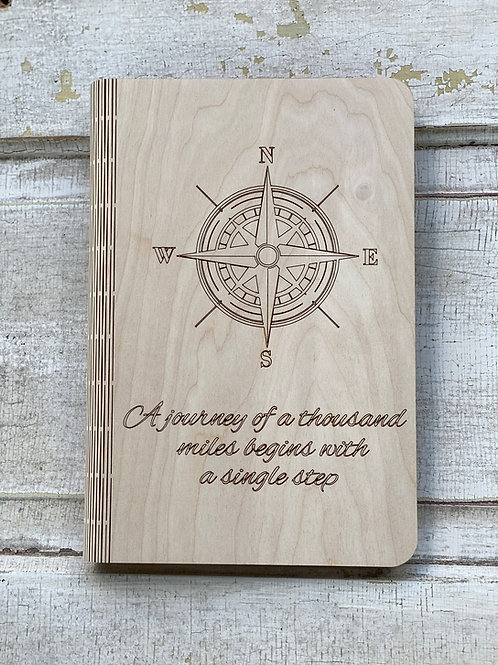 Journey of a Thousand Miles Notbook Cover