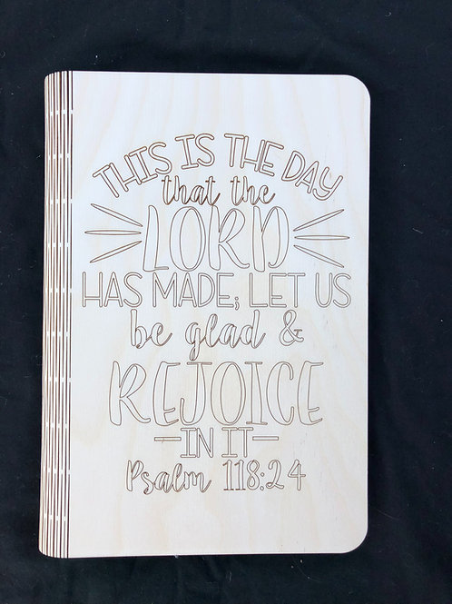This is the Day Notebook Cover