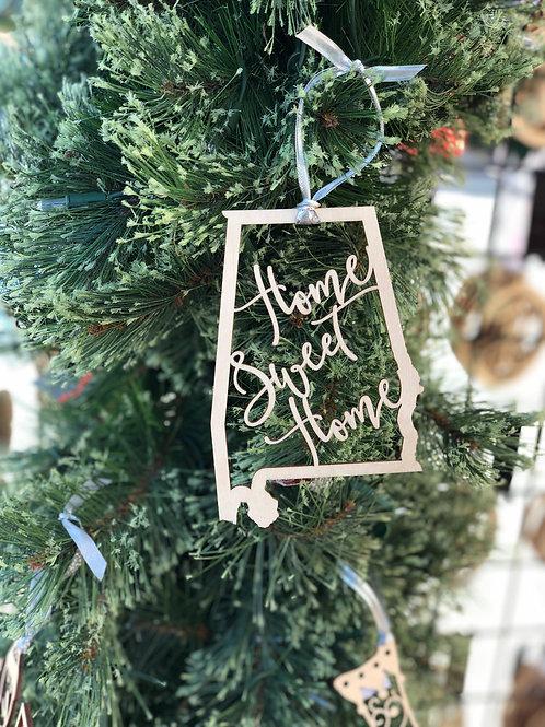 Home Sweet Home Alabama ornament