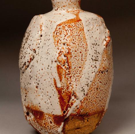 Shino Vase 1 by David Provan