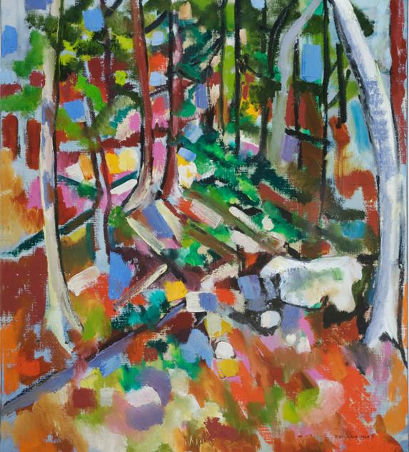 Cezanne Hillside