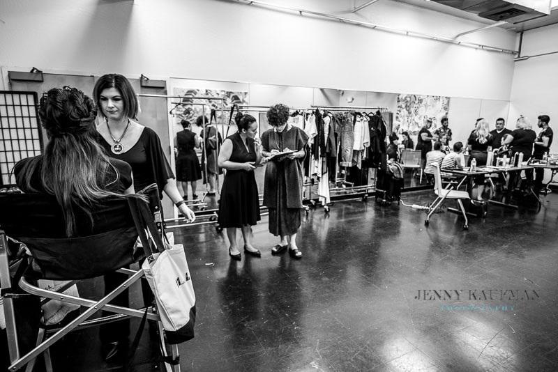 Backstage by Jenny Kaufman