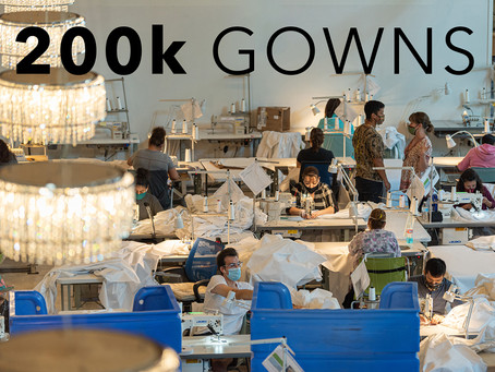 We've Made 200K Medical Gowns!
