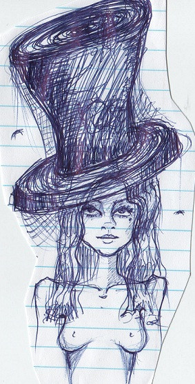 top hat ink