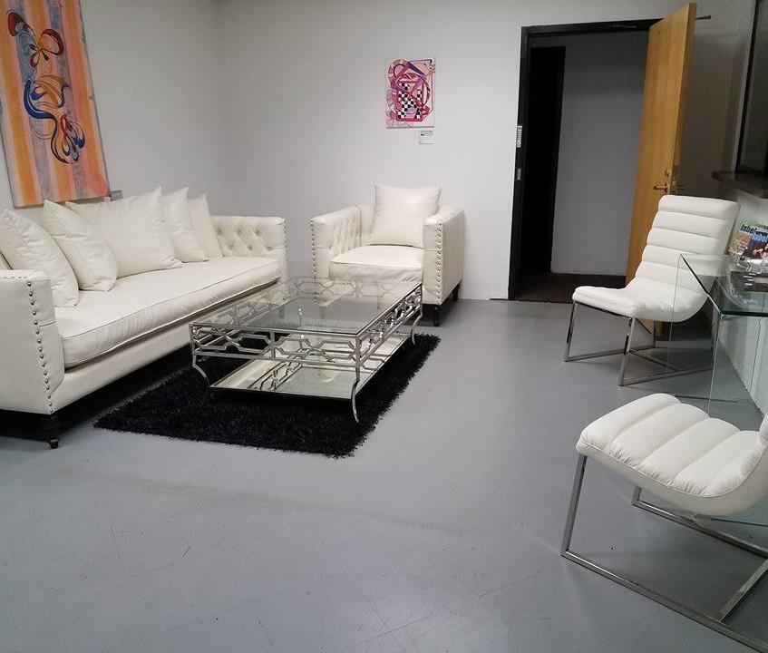 designer reception renovation