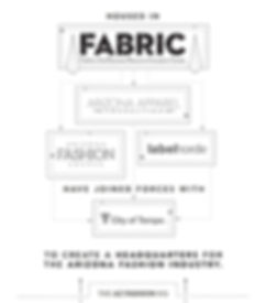 FABRIC is home to AZ Apparel Foundation, AZ Fashion Source and LabelHorde