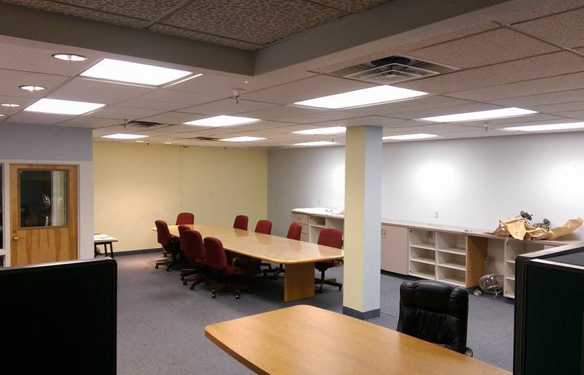 Conference room before