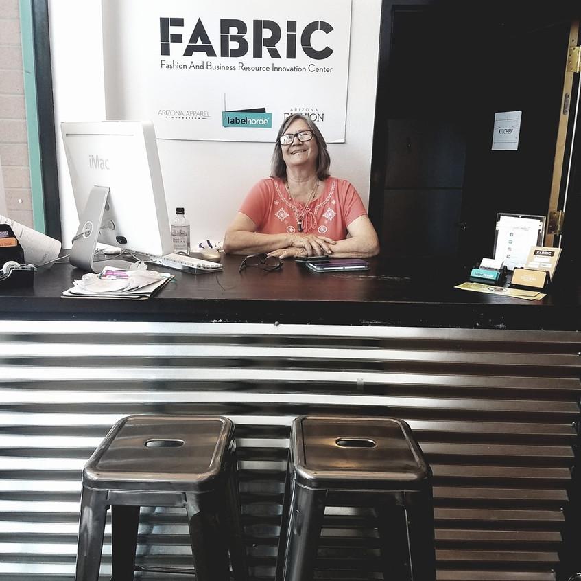 inger front desk volunteer