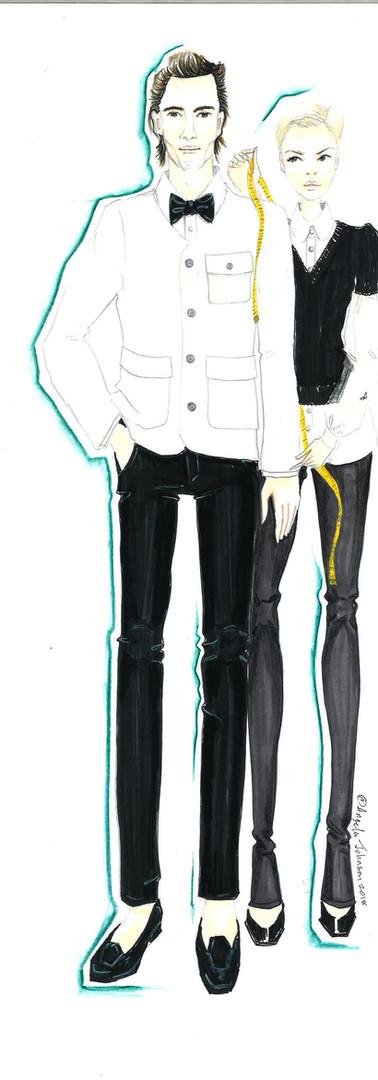 Tailored in White Matt