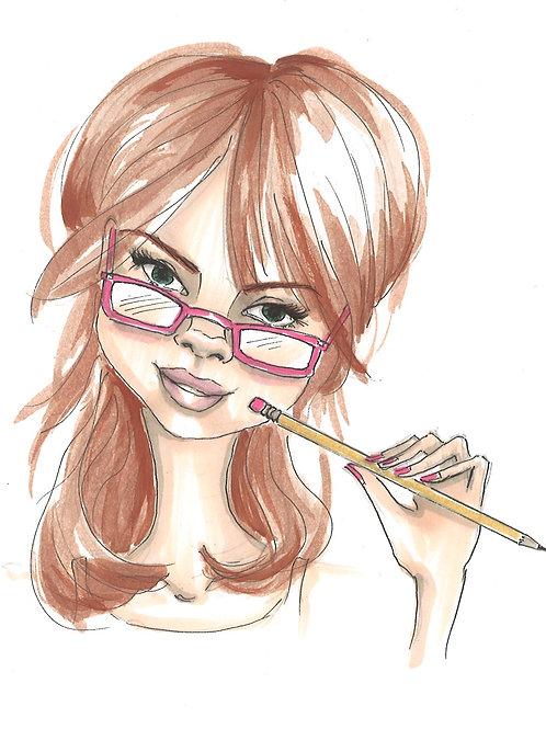 Custom Fashion Sketch
