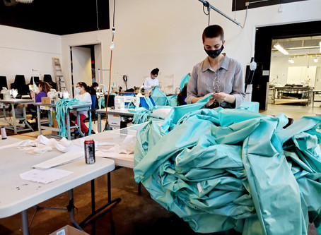 More Machines Added as Isolation Gown Production Ramps Up