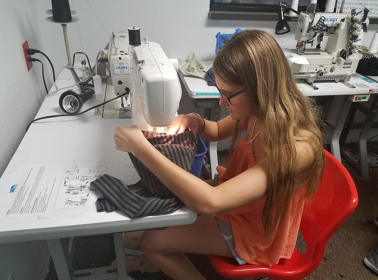 Tiffany Sewing