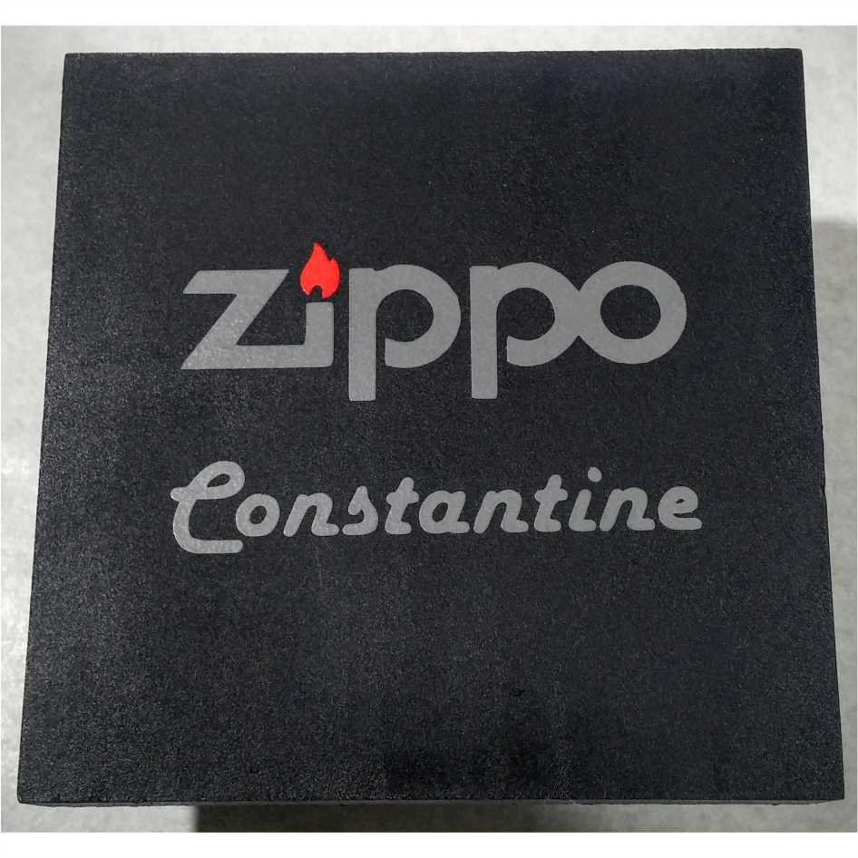0884766f292 Isqueiro Zippo Constantine Armor com todos acessórios