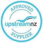 UpstreamNZ Approved Supplier badge
