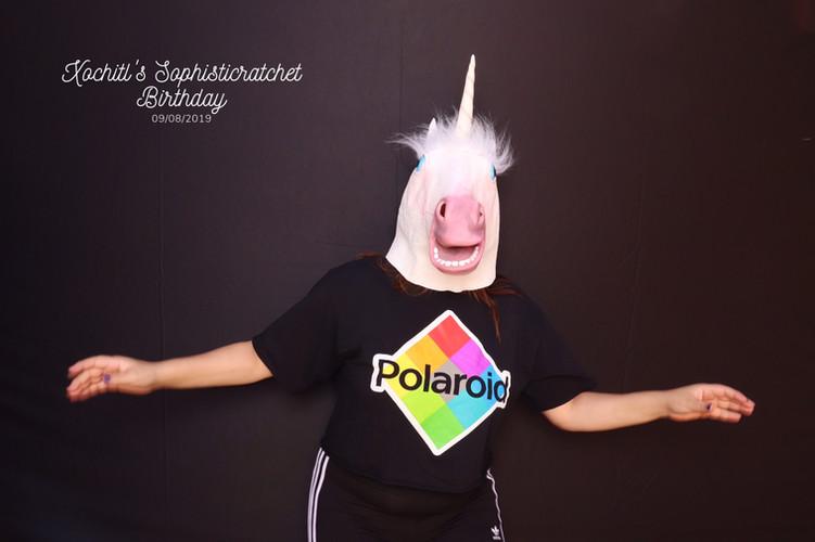 Polaroid Unicorn