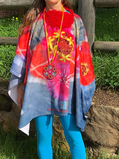 Cosmic Delights Wonder Being Fluffy Poncho