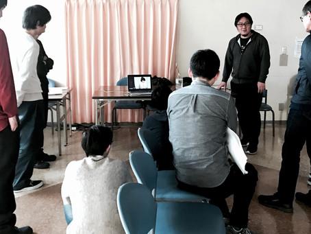 映像工房NOBU主催 第一回ワークショップ 授業報告