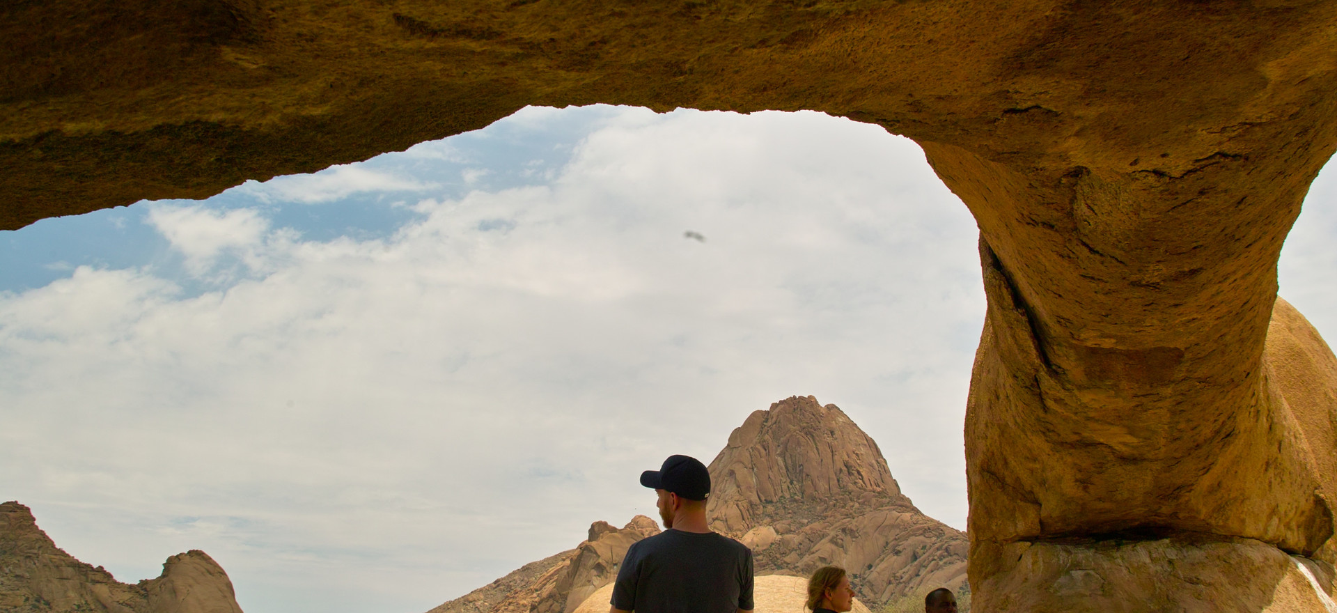 The rock arch at Spitzkoppe