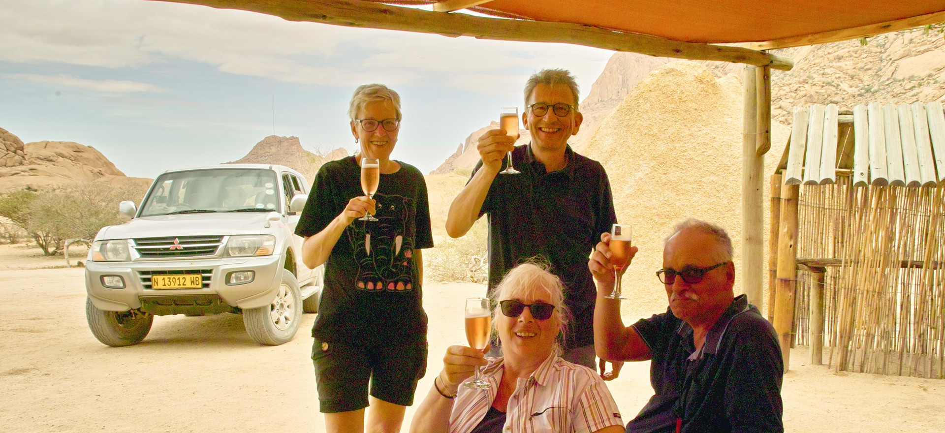 Lunch at Spitzkoppe