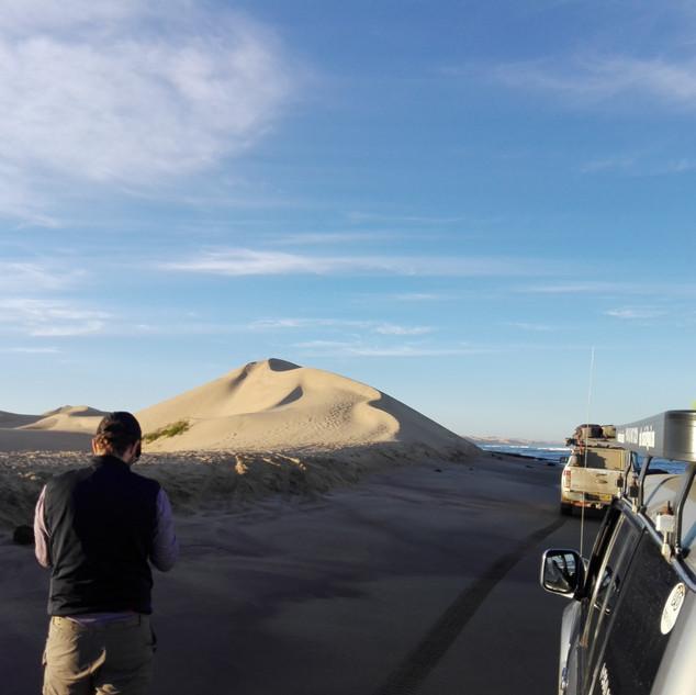 Sunrise dune tour