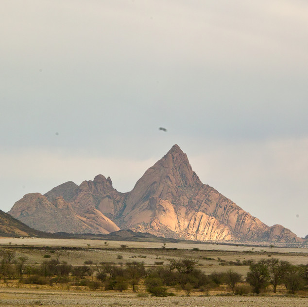 Spitzkoppe granite peak