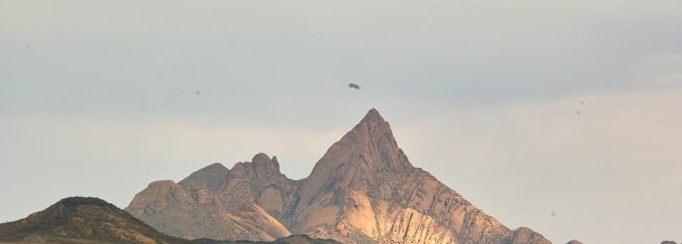 Spitzkoppe granite peak