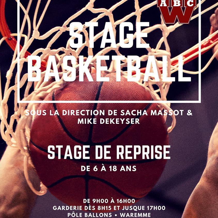 Stage de Reprise 2018-2019