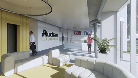 BUREAUX AUCHAN - EUROHUB 2 - L - DUDELANGE