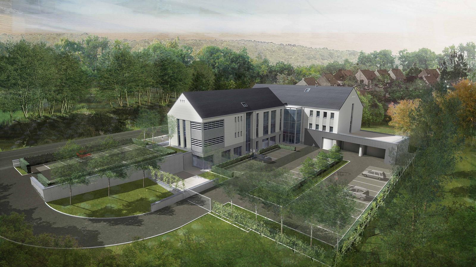 Namur un nouveau projet de logement pour la villa legrand