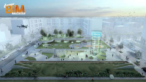 CENTRE SOCIO-CULTUREL - FRANCE - BIM CONTEST 2019