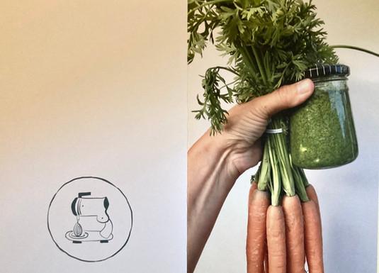 wortelloofpesto