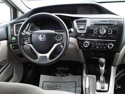 2013 Honda Civic Silver
