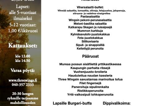 Isänpäivä Juhlabuffet take-away